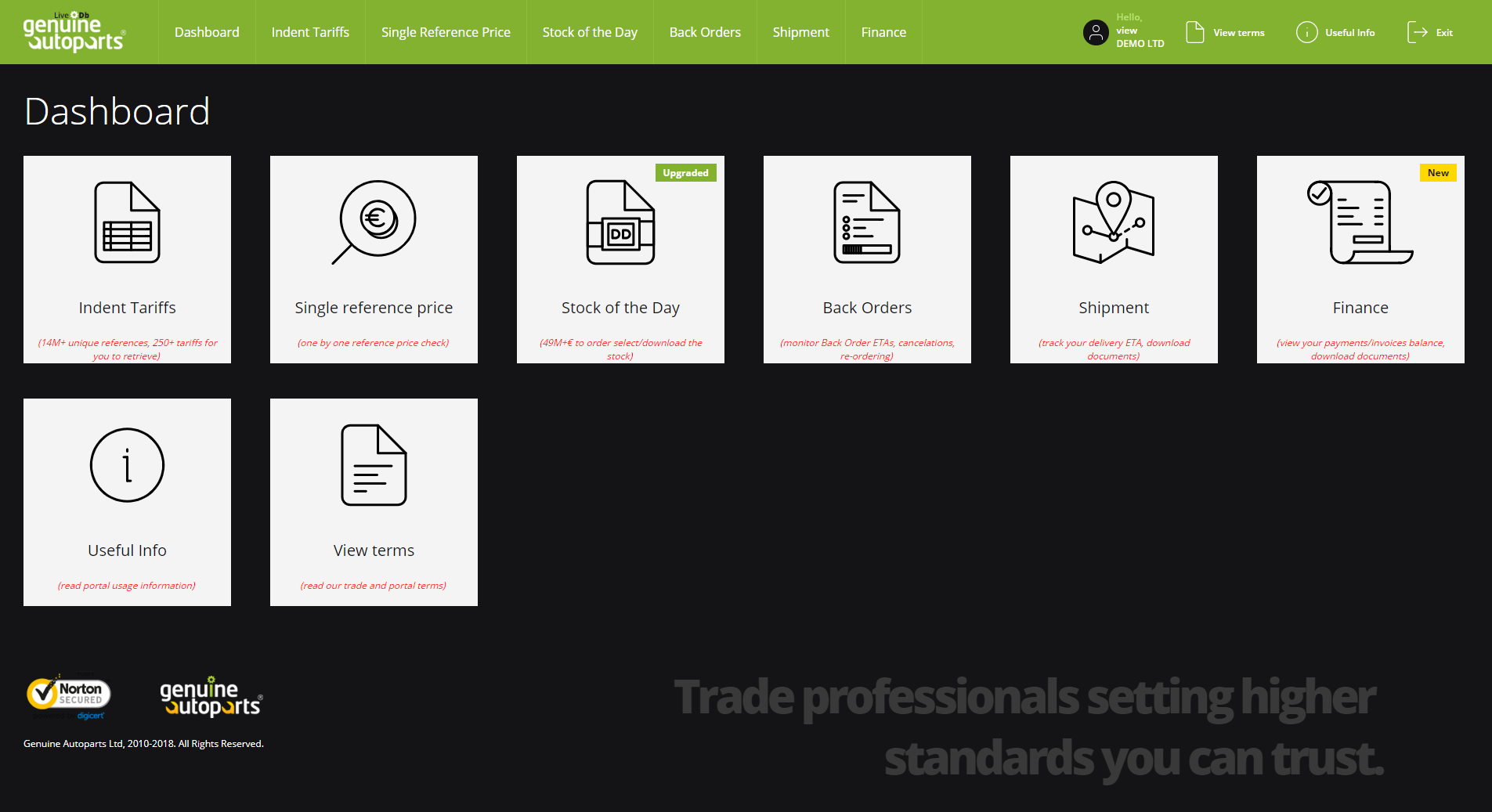 Our Marketplace portal is fully upgraded with a brand new design